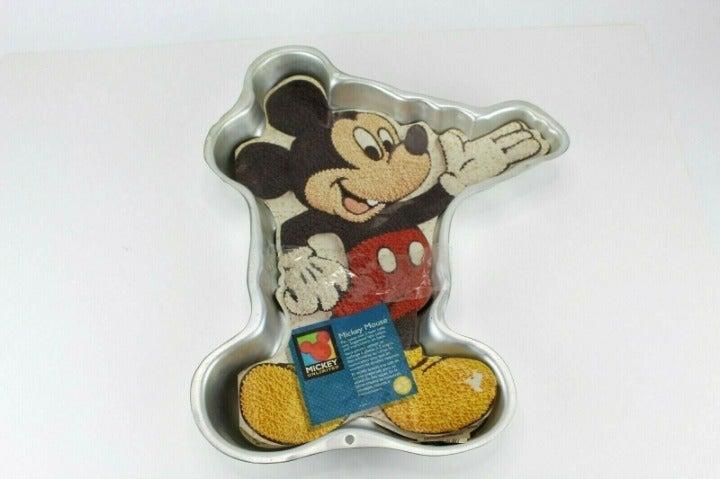 Vtg Wilton Mickey Mouse Cake Pan Disney