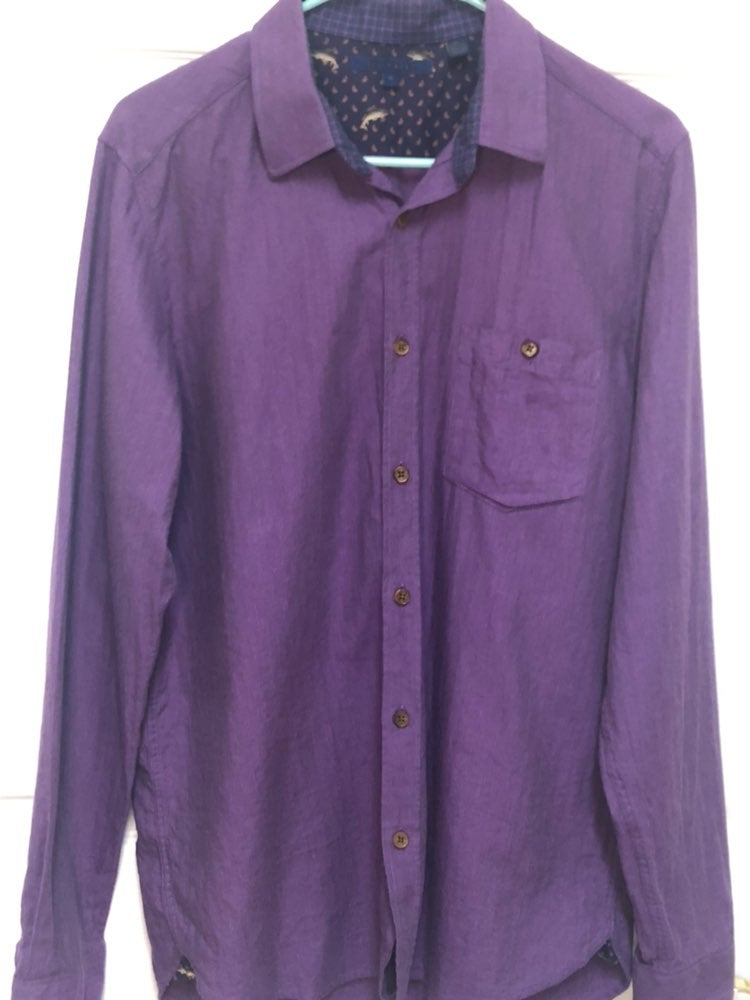 Ted Baker Long Sleeve Purple Small