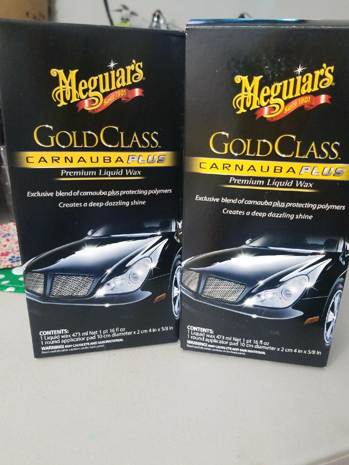 Sale 2 for $18 Meguires Gold Class plus