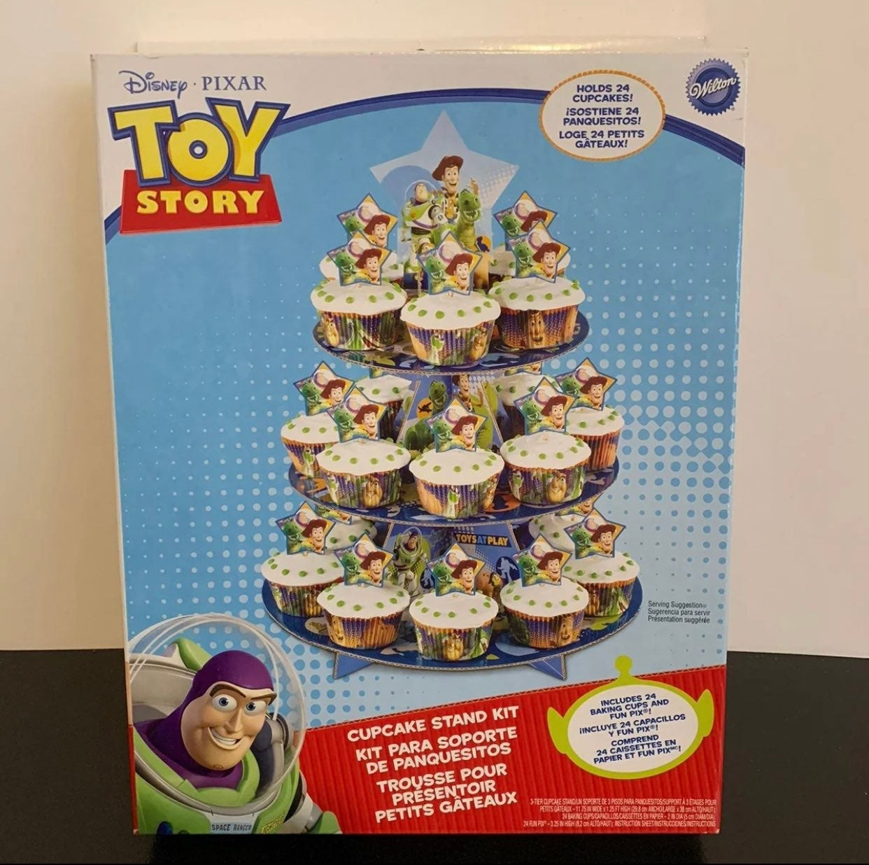 Toy story cupcake stand kit