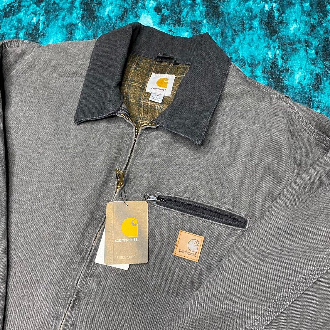 NWT Carhartt Jacket XXL J97 Grey Lined