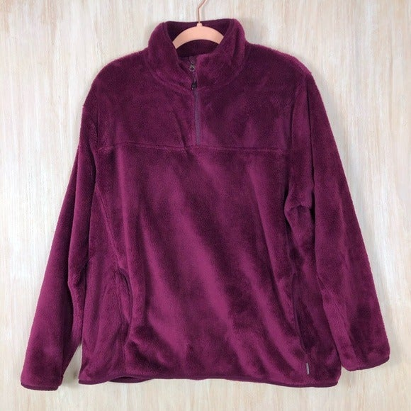 Eddie Bauer Furry Soft Pullover Jacket
