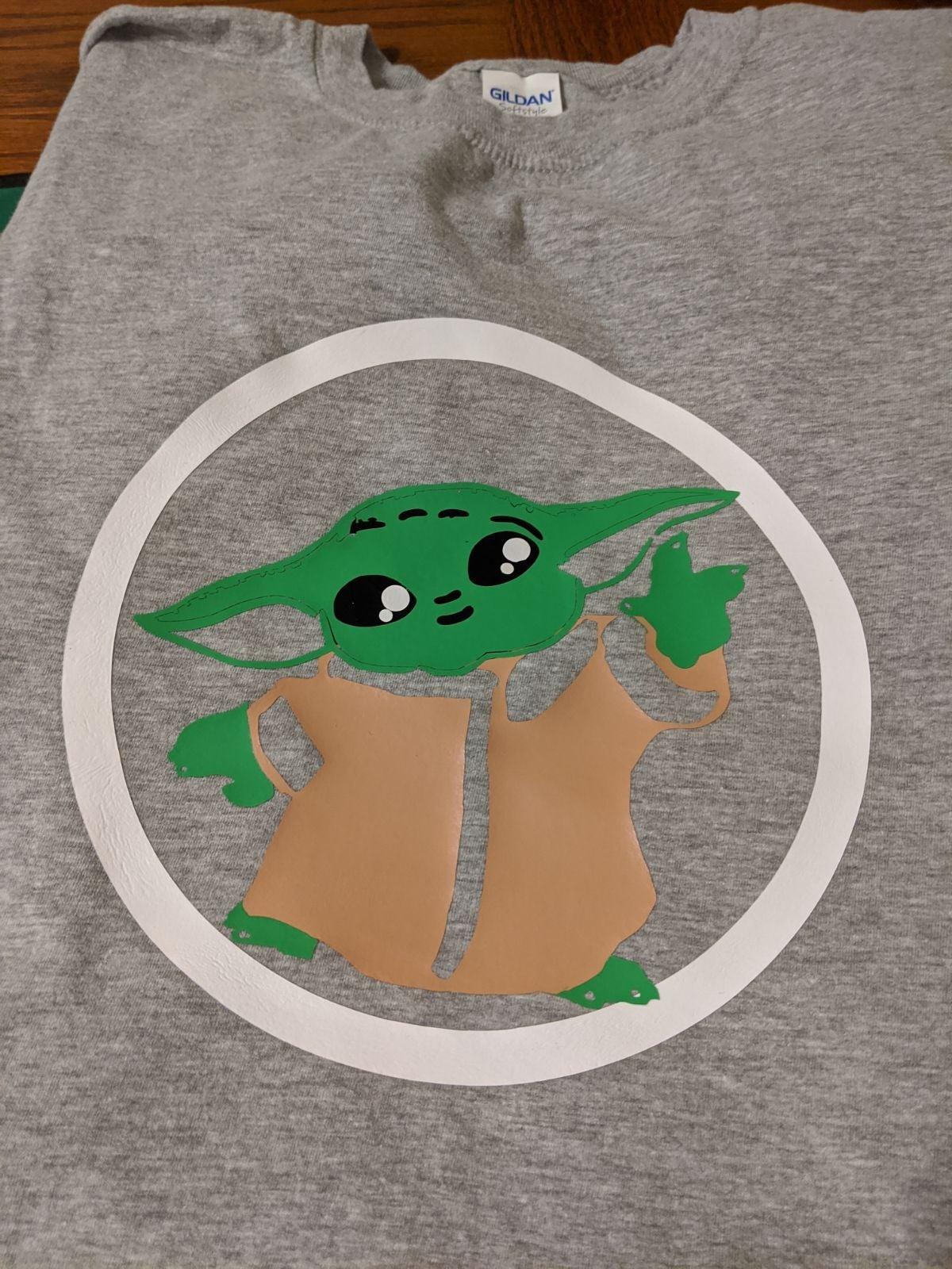 baby yoda shirt