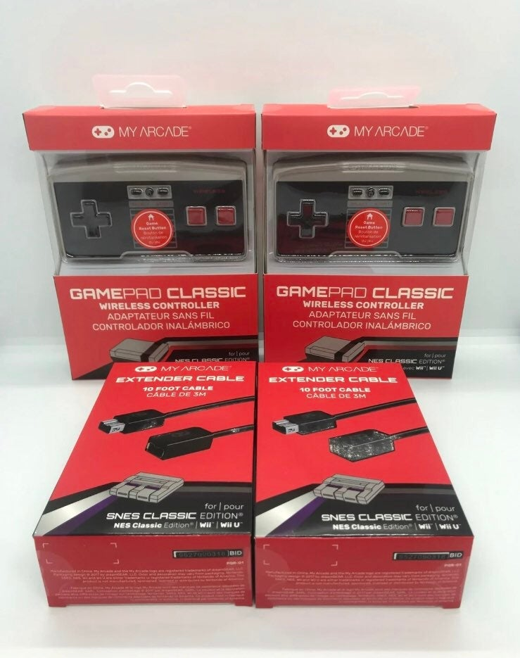 Lot 2 NEW & SEALED GamePad Classic Wirel