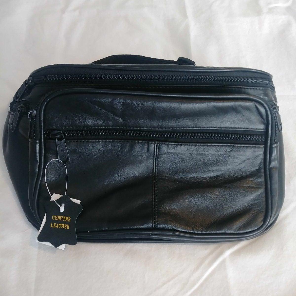 Mens, large, hip/travel bag