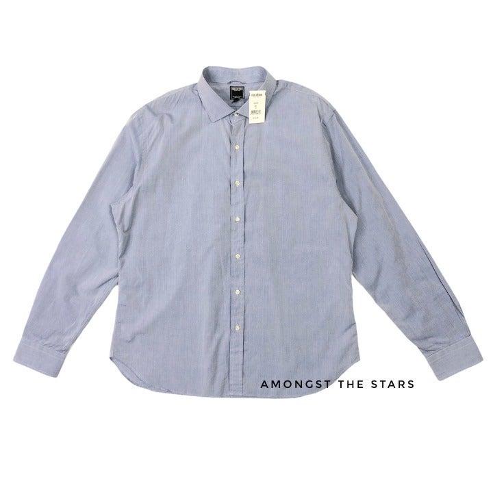 Todd Snyder Blue Button Down Dress Shirt