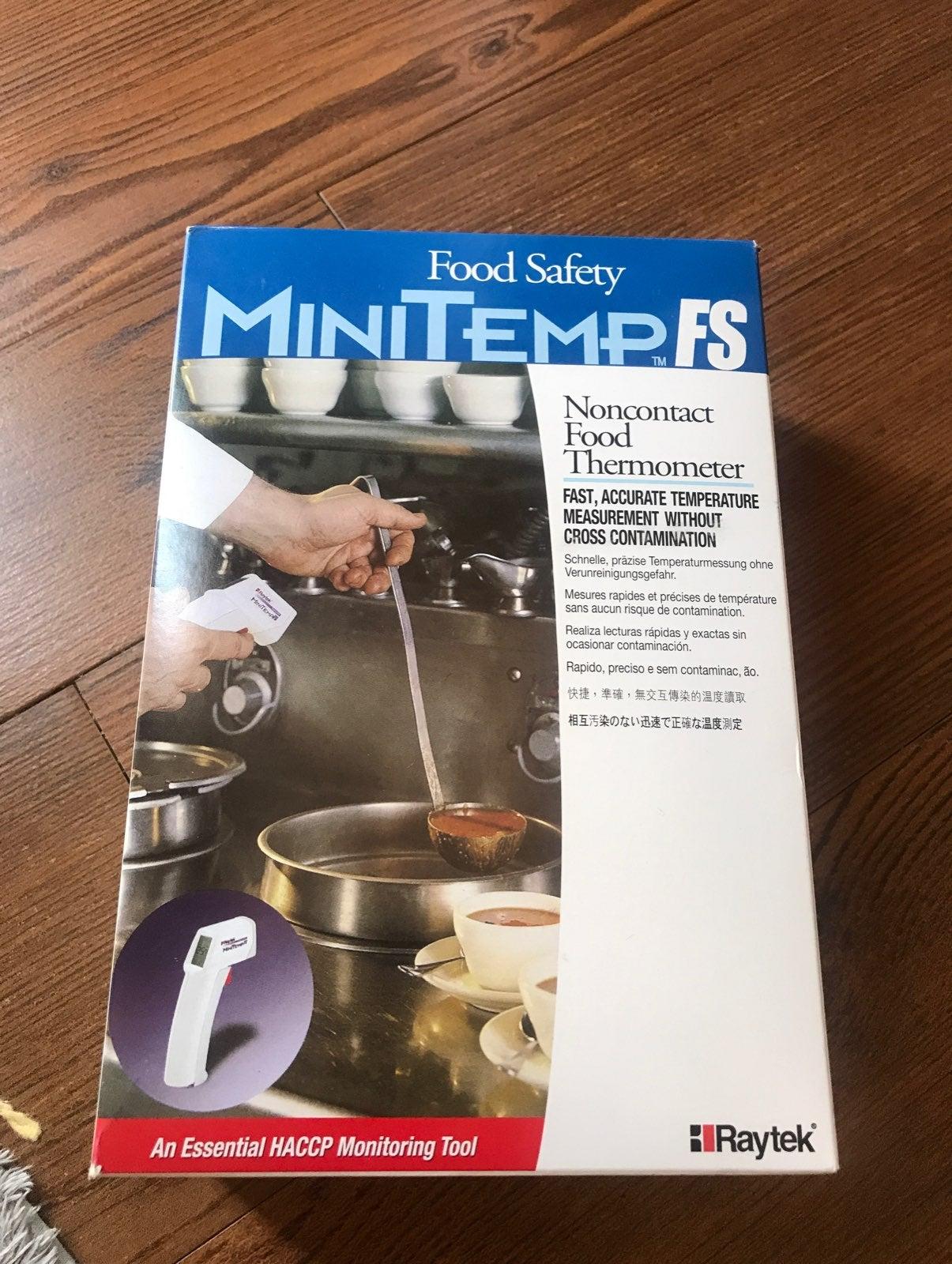Raytek minitemp FS non contact thermomet