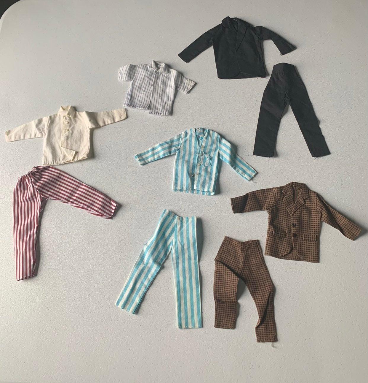 Vintage Ken Doll Clothing Lot