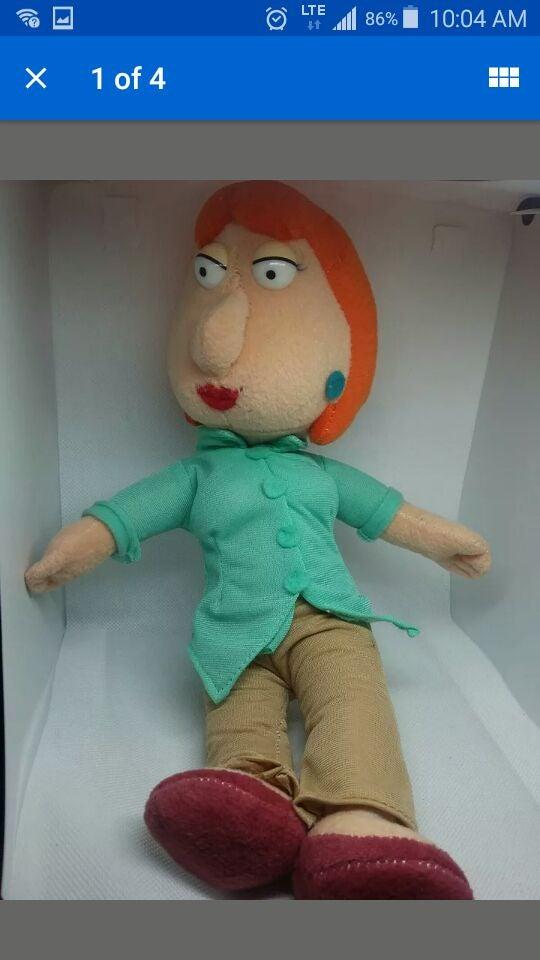 Family Guy Lois Plush doll figure rare