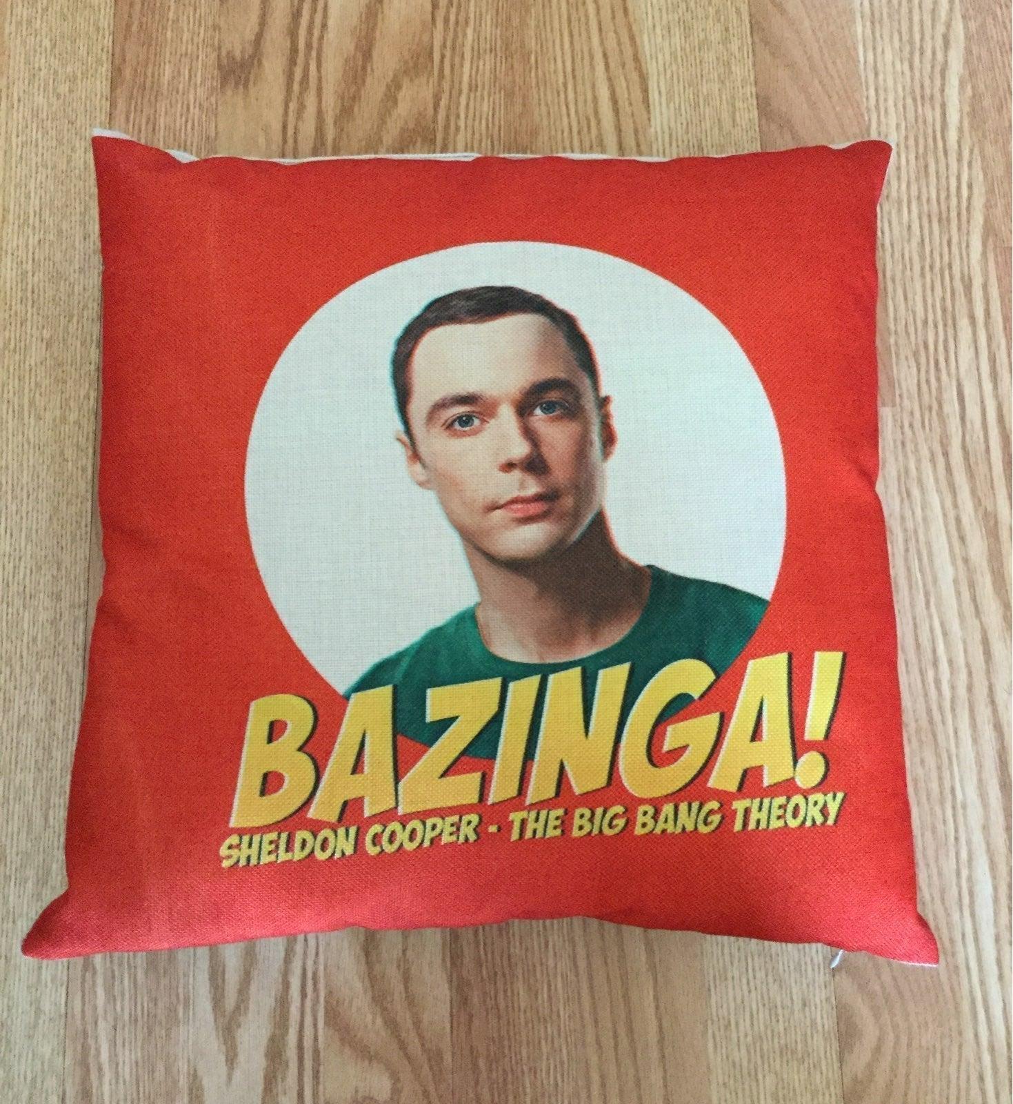 """The BBT Sheldon 15"""" Pillow"""