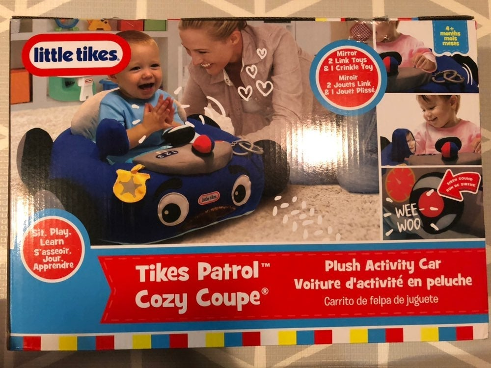 NEW Little Tikes Patrol Cozy Coupe