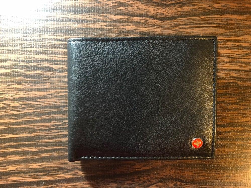 Men leather Alpine Swiss Wallet