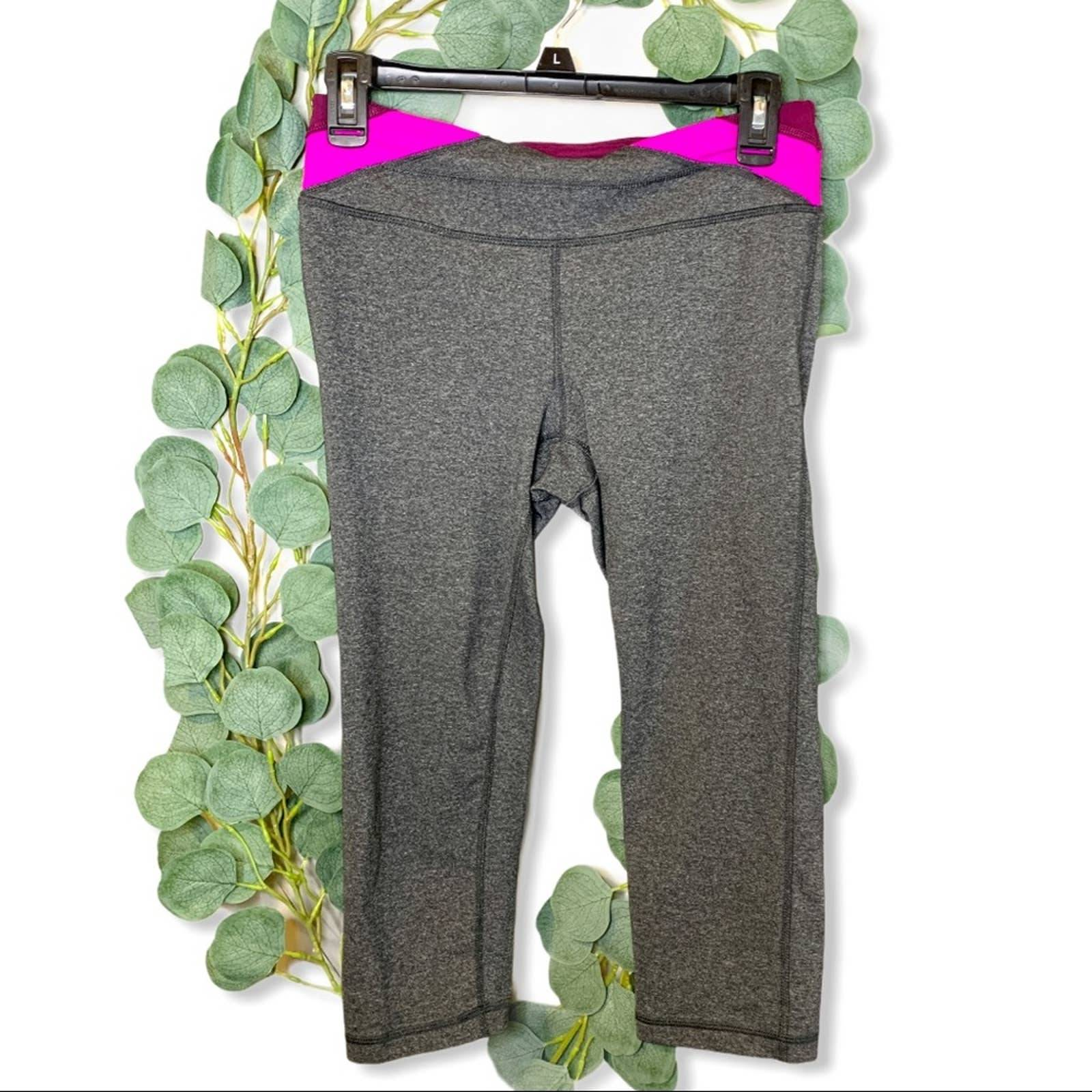 TekGear Gray Spandex Legging Yoga Crops