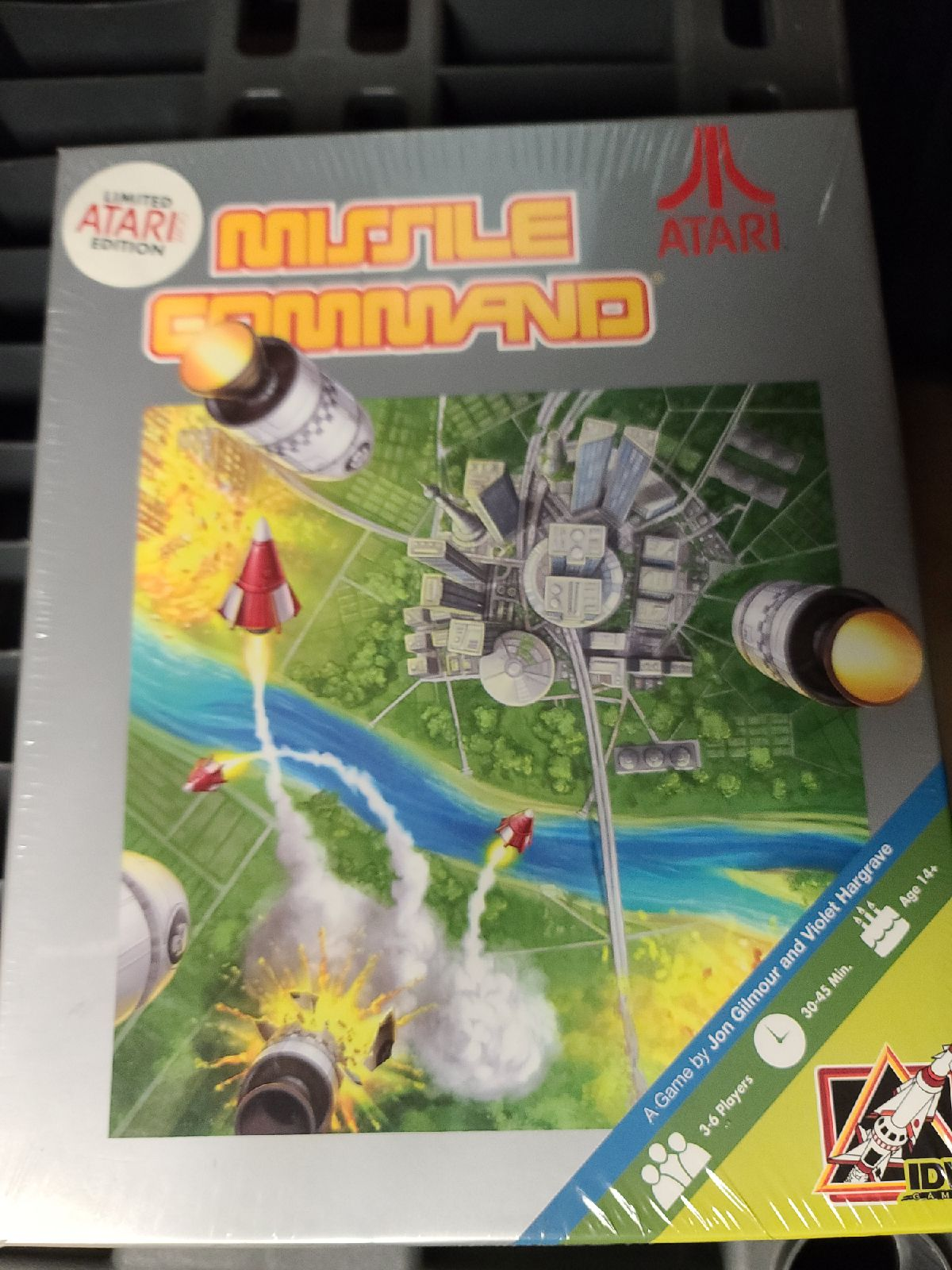 Missile Command Board Game Vintage Atari