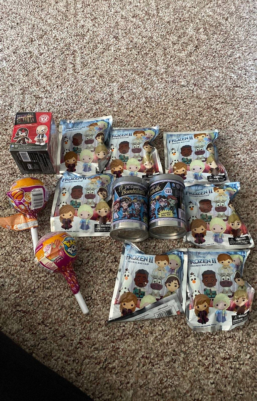Mystery surprise toy lot