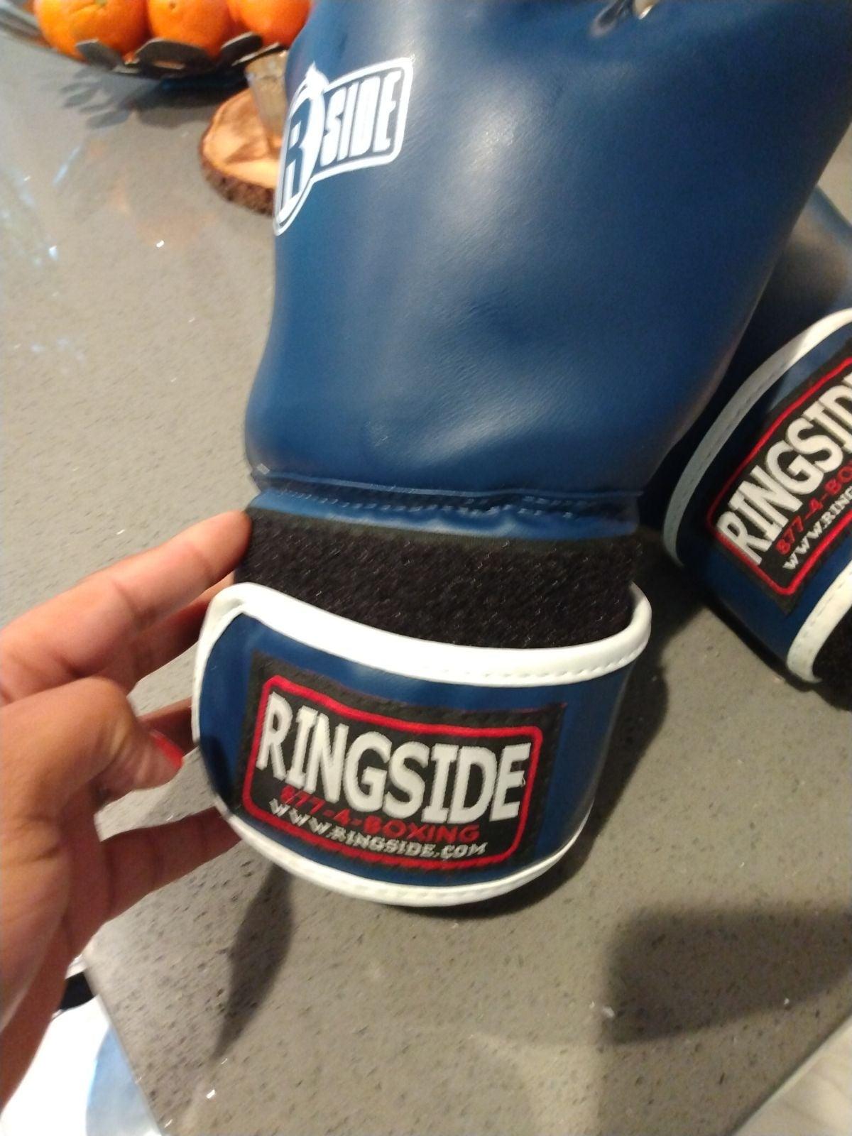 Ringside like new boxing gloves