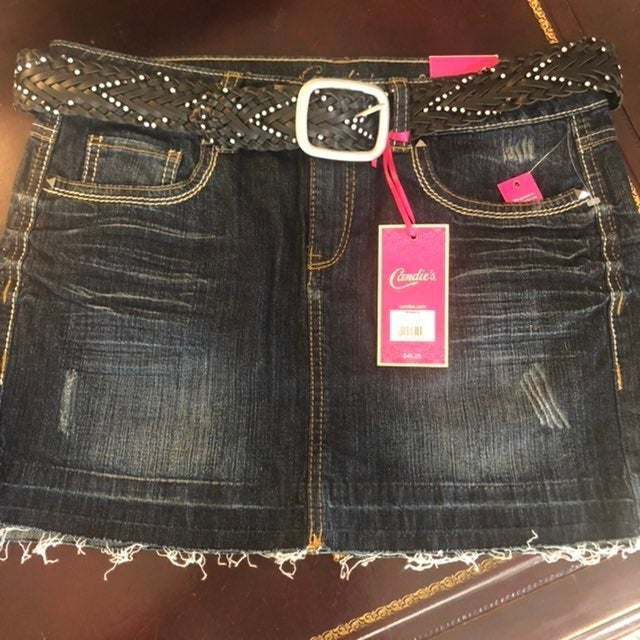 Candie's NWT Denim Mini Skirt - comes wi
