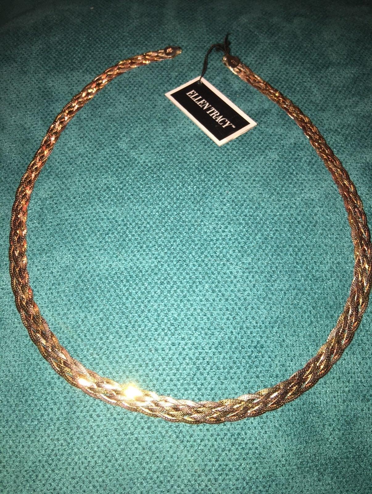 Sterling silver herringbone braided neck