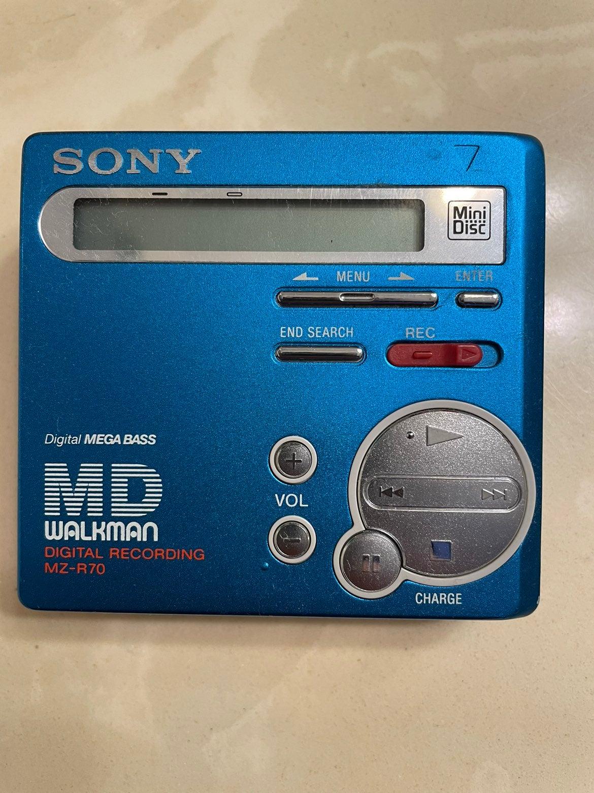 SONY MZ-R70 Portable Minidisc Player