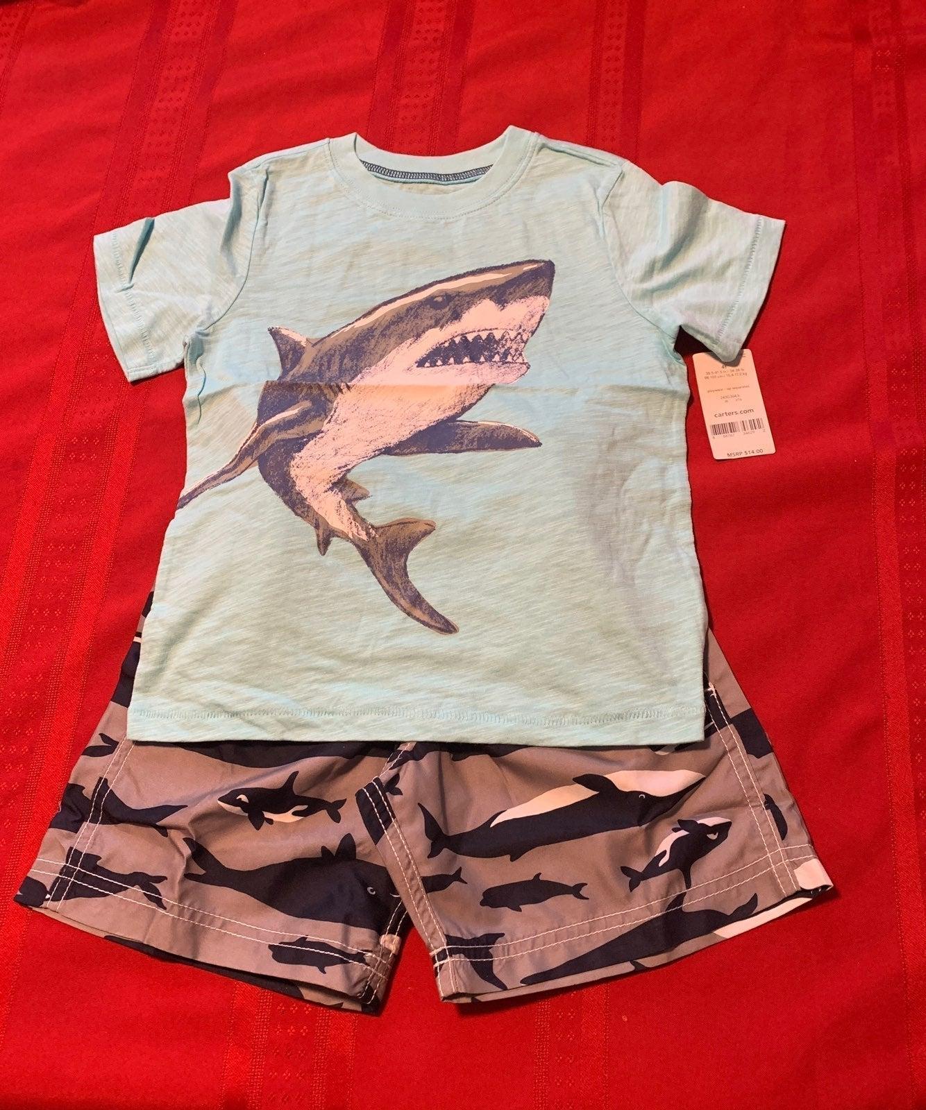 Carter's Boy 2 Piece T-shirt & Short 4T