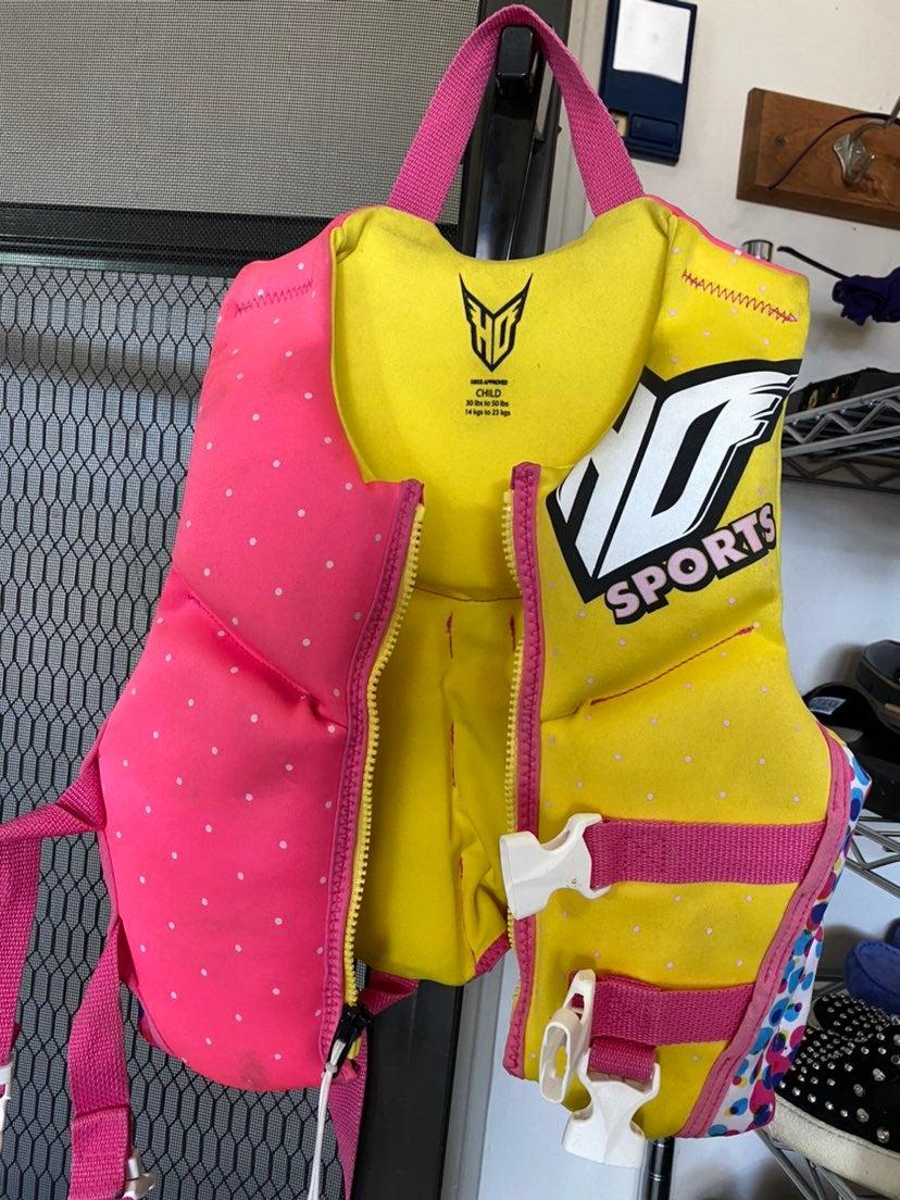 HD Sports child life jacket vest