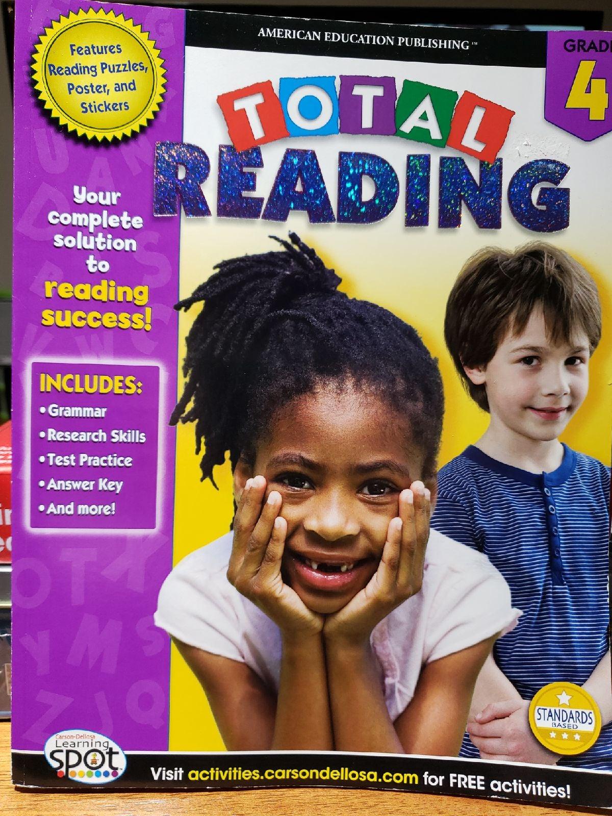 Reading book activities 4