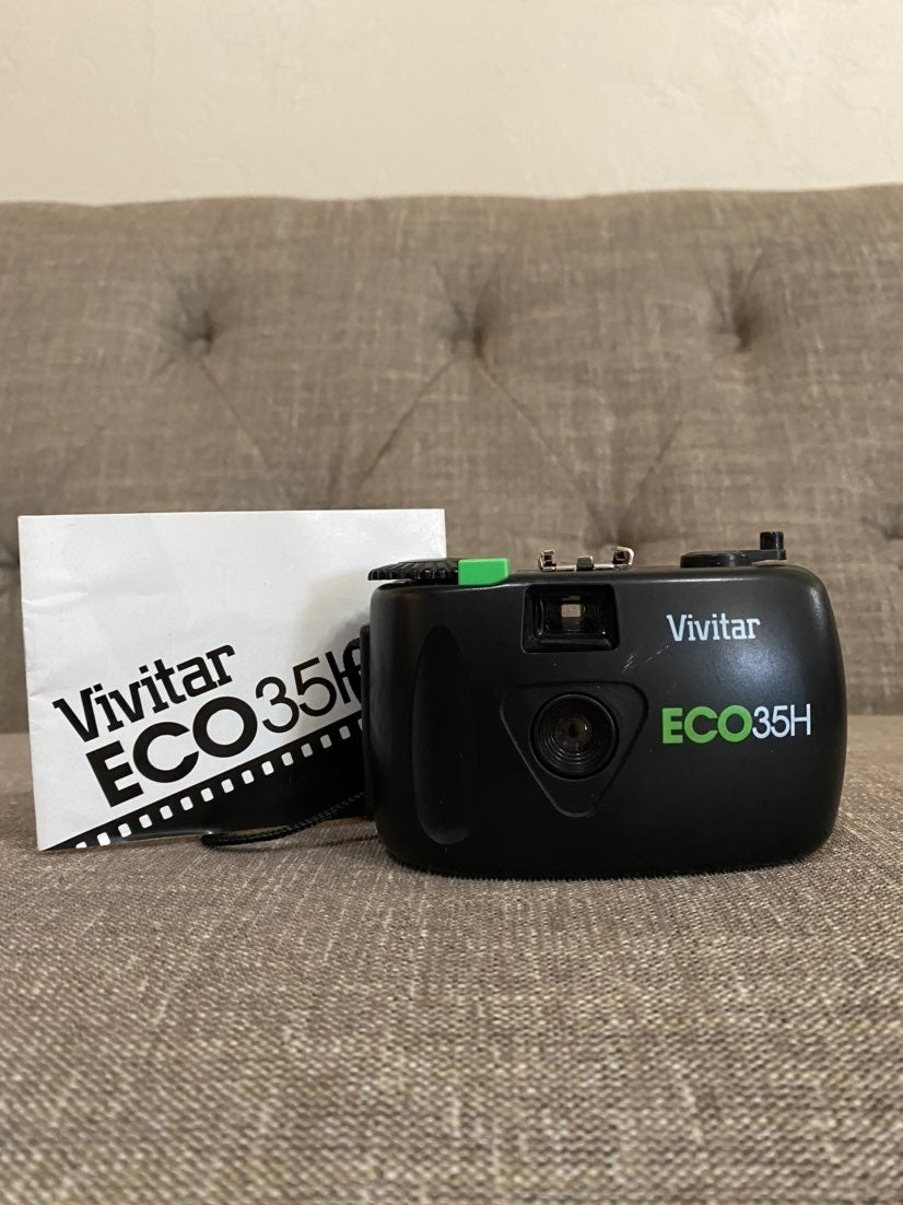 90's Vivitar battery-free Camera