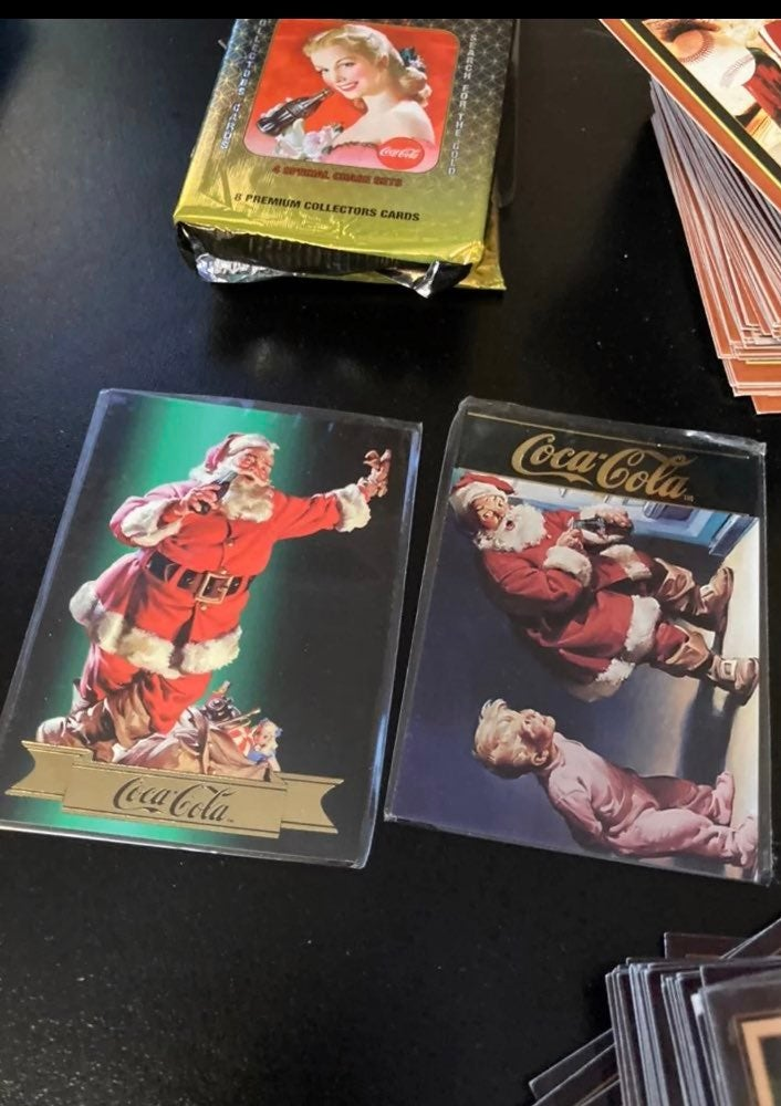 Coca Cola, Campbell, and Disney Cards