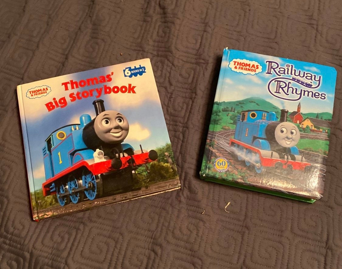 Set Of Thomas the Train Books