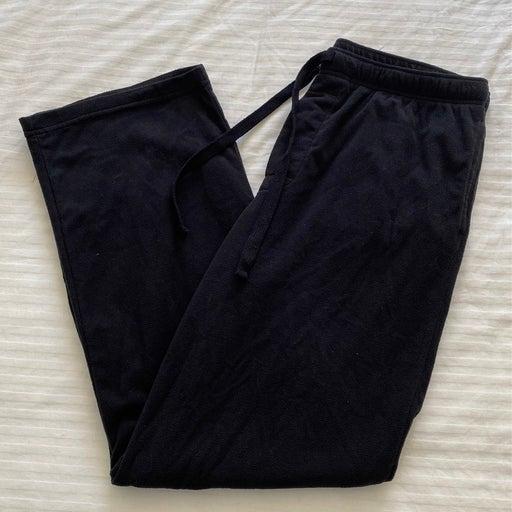 Mens Black Fleece Lounge/Sweatpants