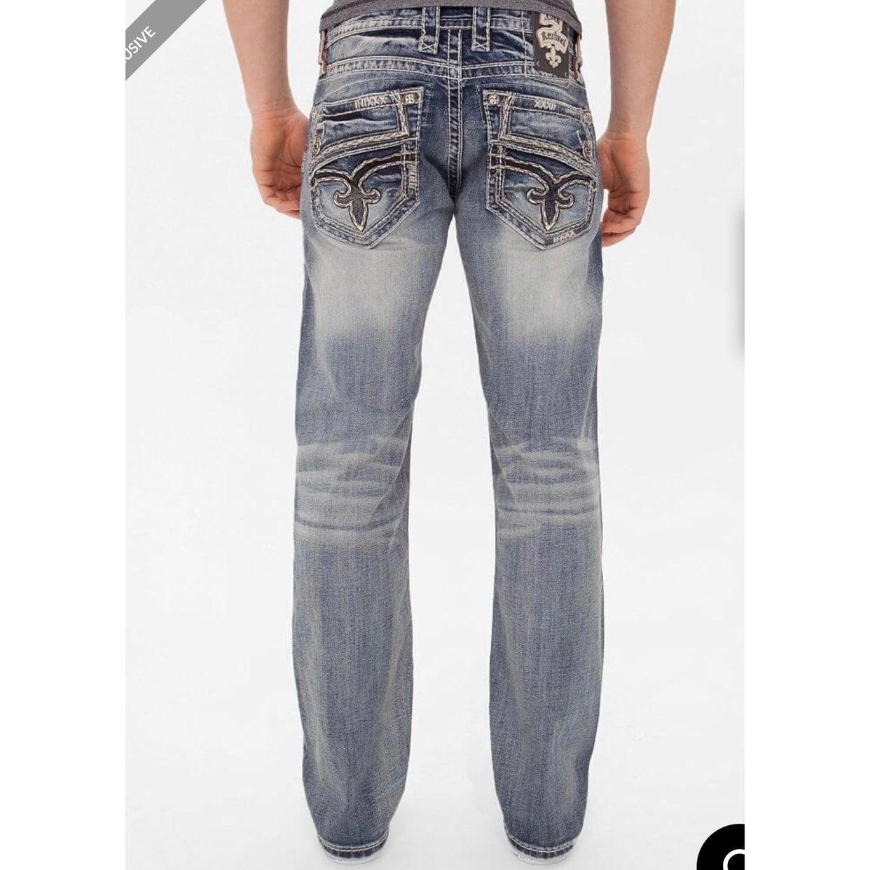 Rock Revival Destin Straight Jeans 38