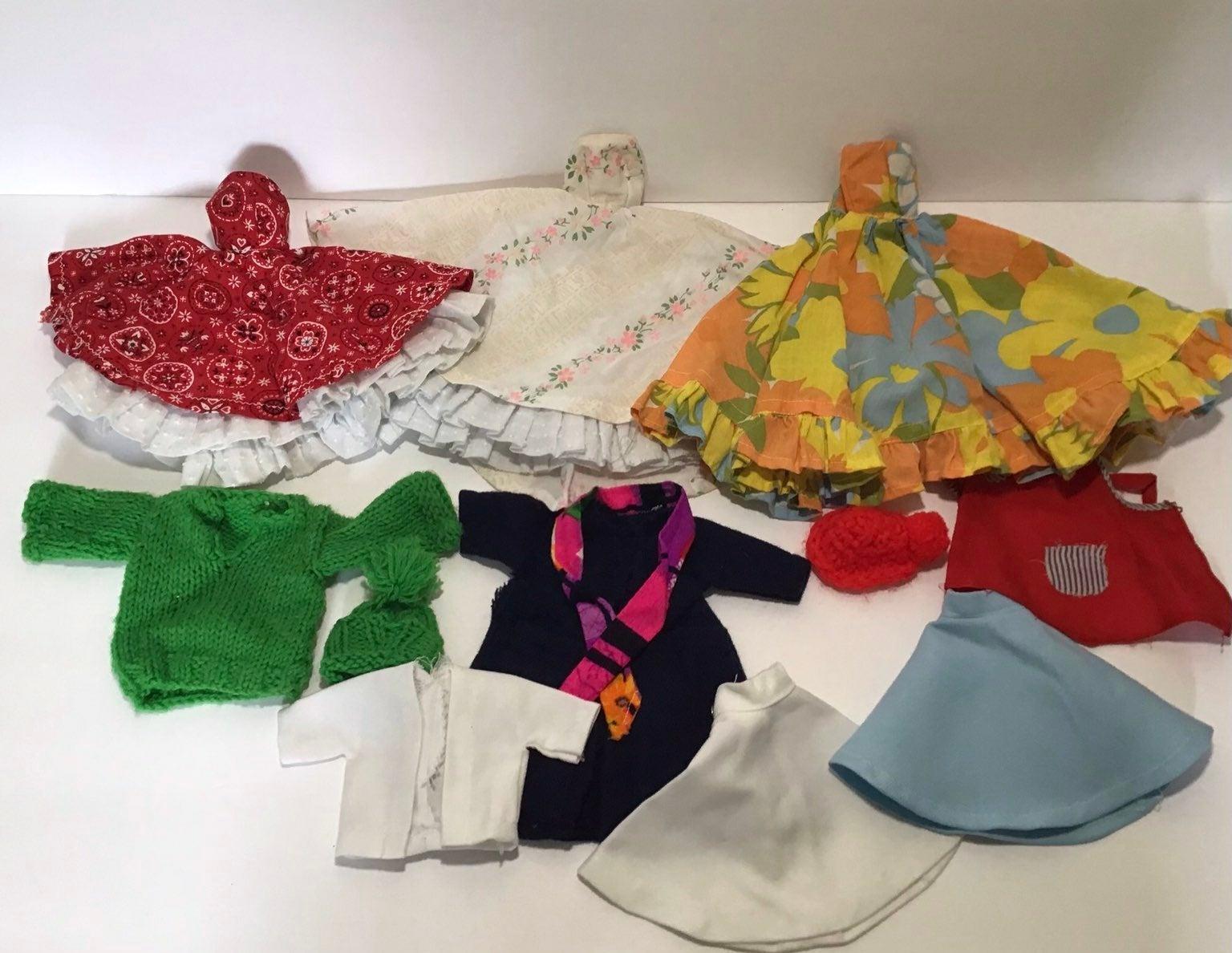 Vintage Barbie Handmade Clothes