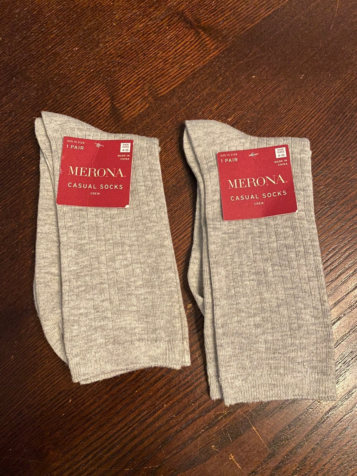 Grey Casual Socks