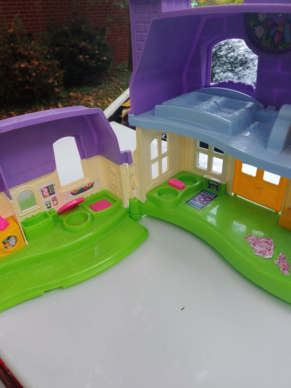Little People large fold up home house