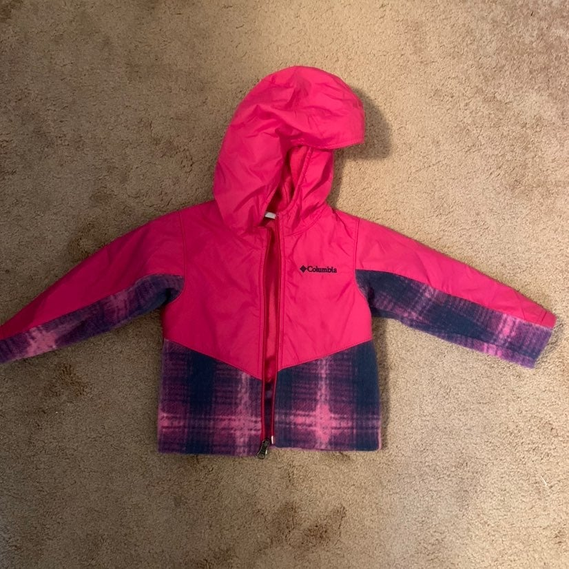 Columbia Jacket Girls 2t