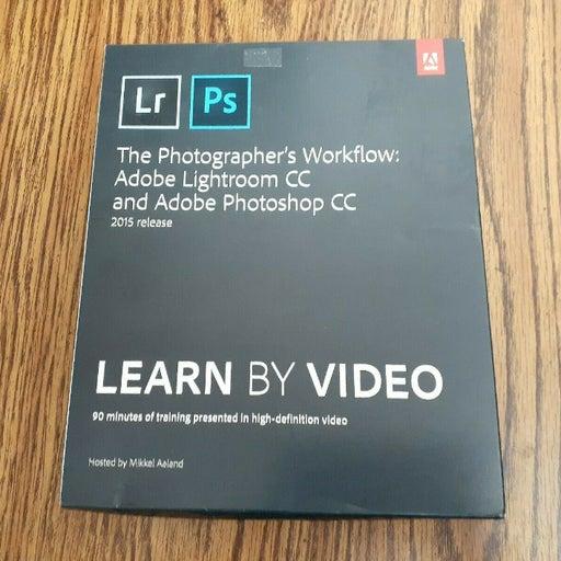PHOTOGRAPHER'S WORKFLOW ADOBE LIGHTROOM