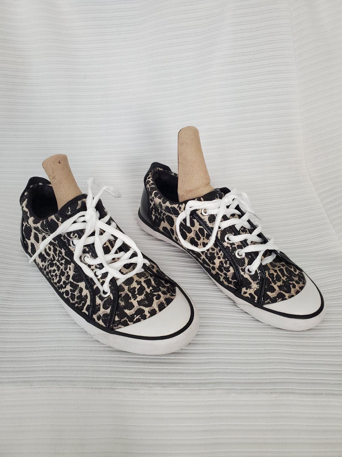 Coach Barrett Animal Print Sneakers