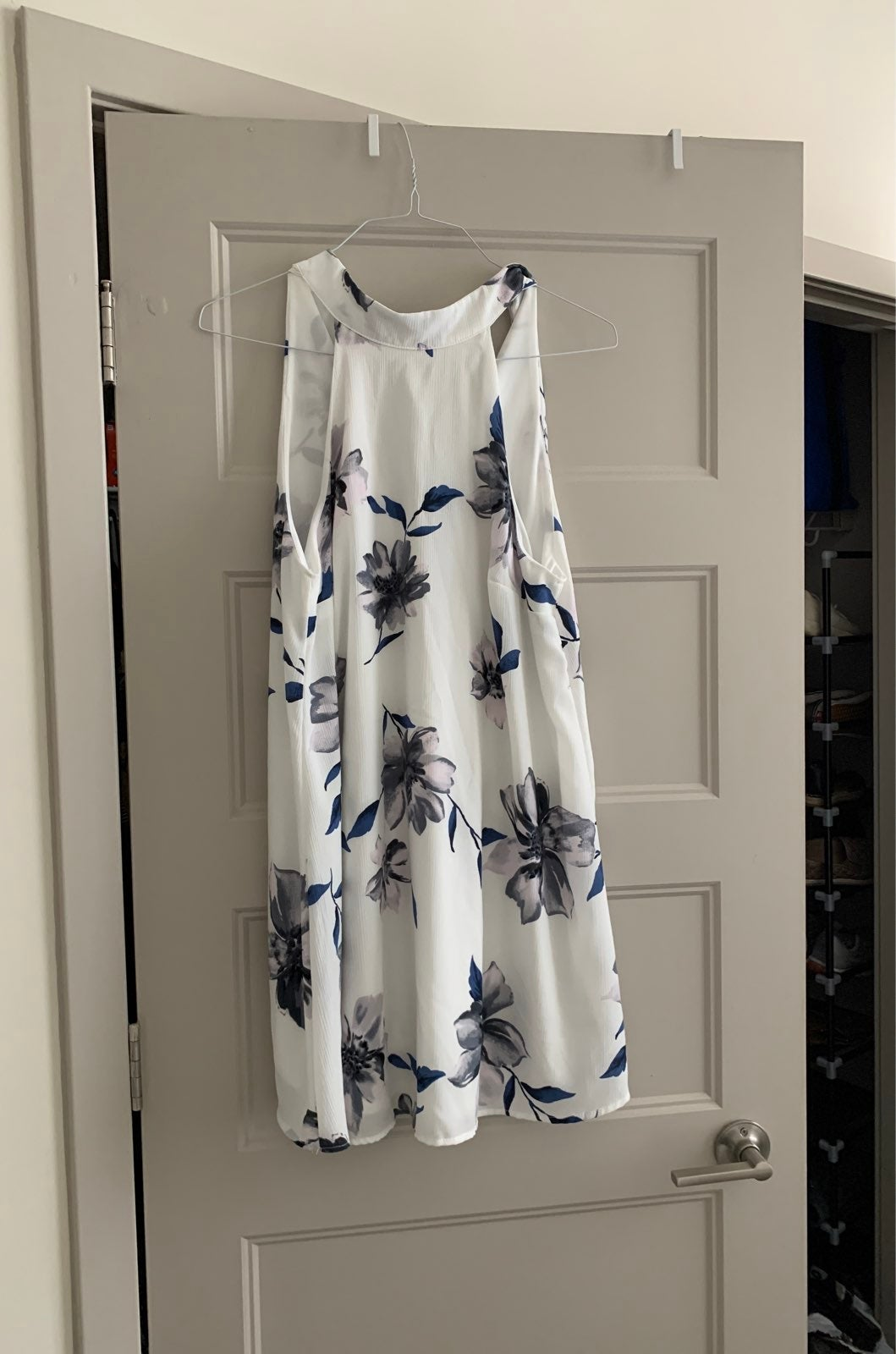 Lulus floral white Dress