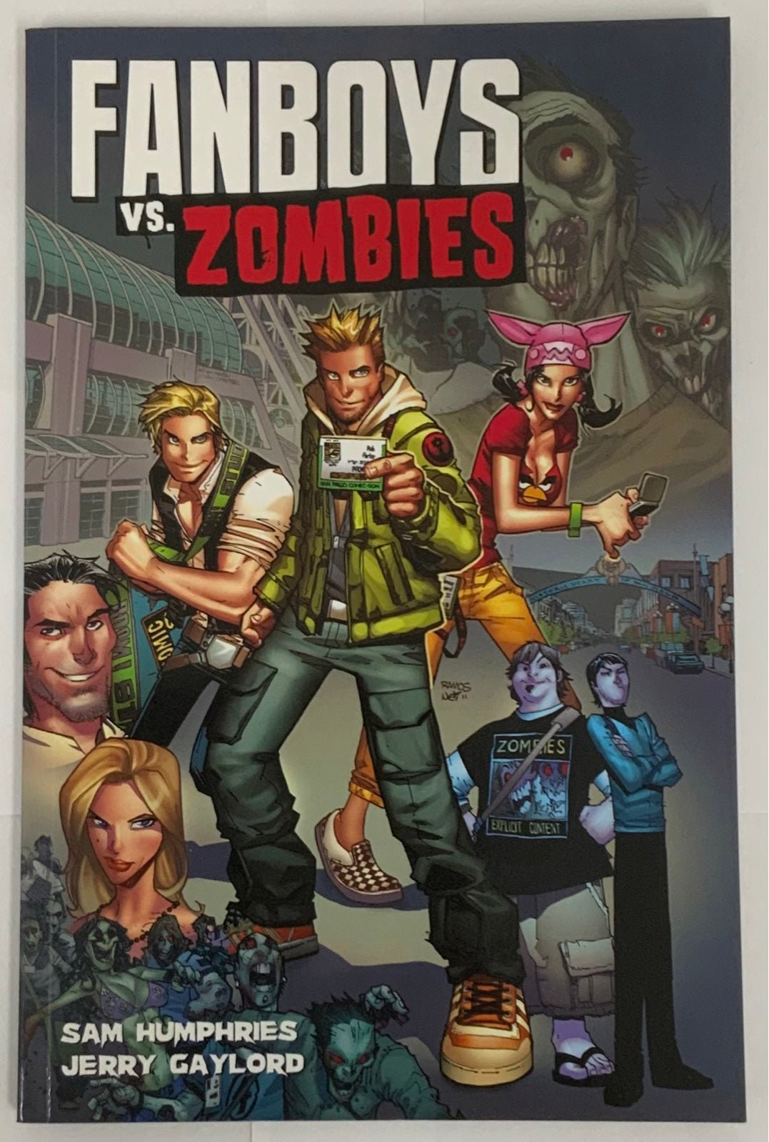 Fanboys Vs Zombies Wrecking Crew 4 Life
