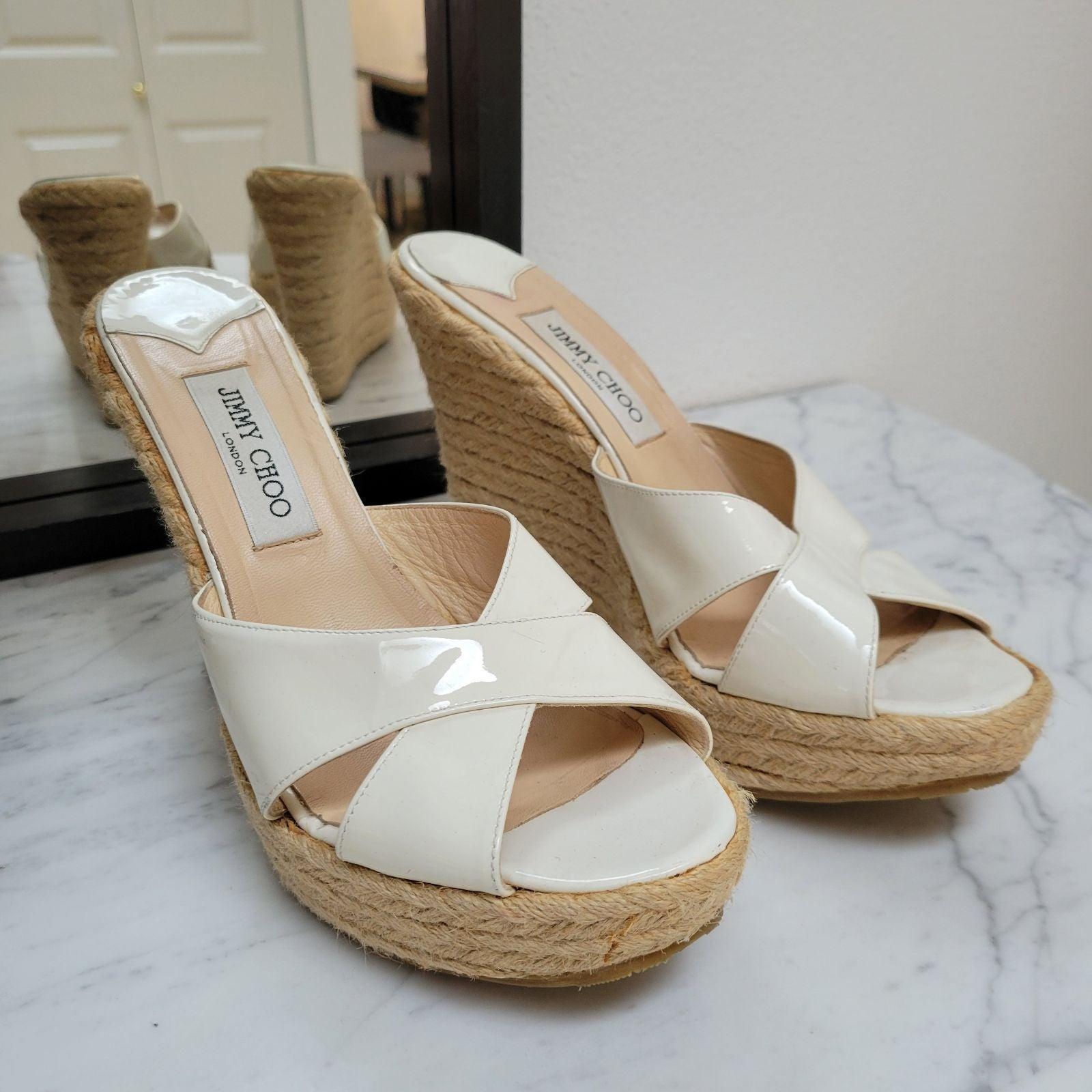 Jimmy Choo 42 Wedges Sandal platform