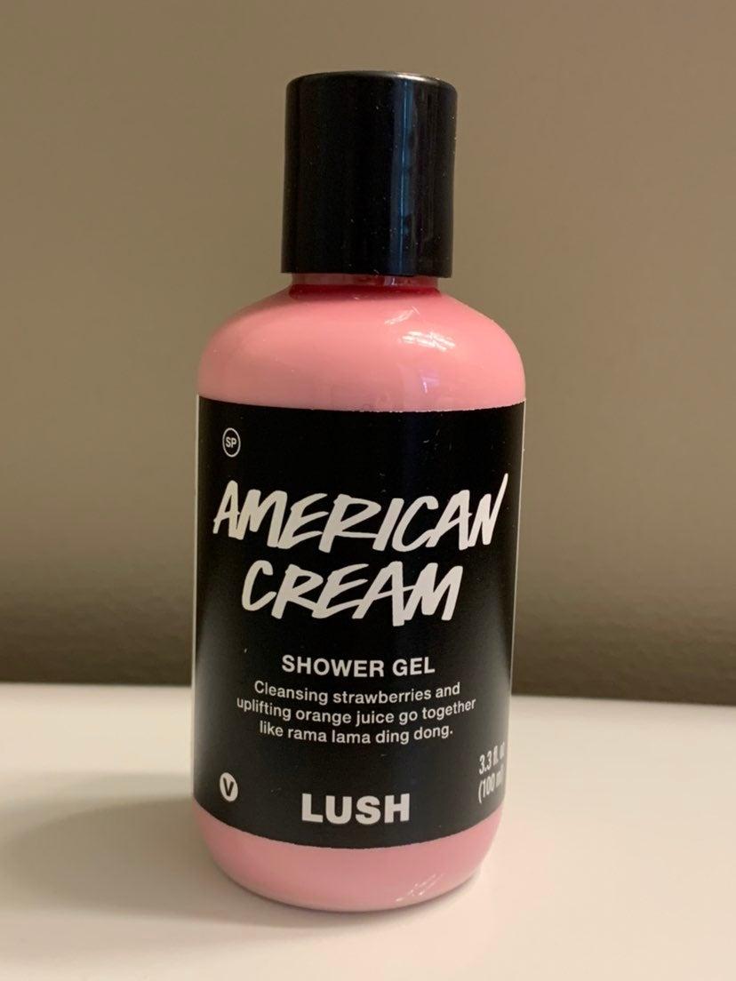 Lush American Cream Shower Gel 3.3oz