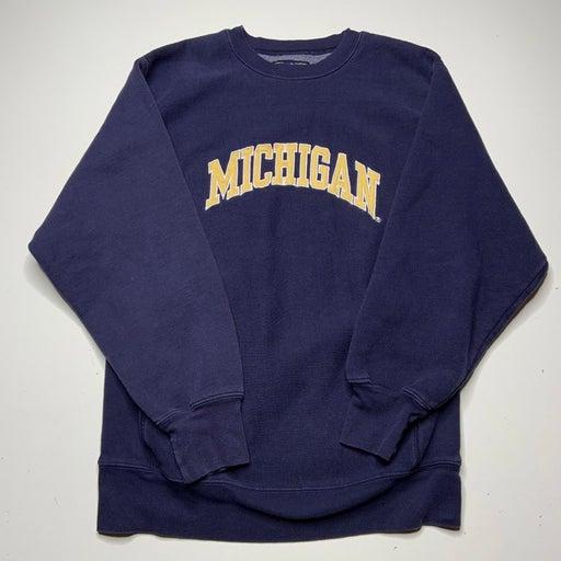 Vintage michigan crewmeck small