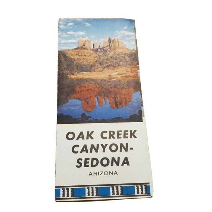 Vintage 1960s  Sedona Arizona oak Creek