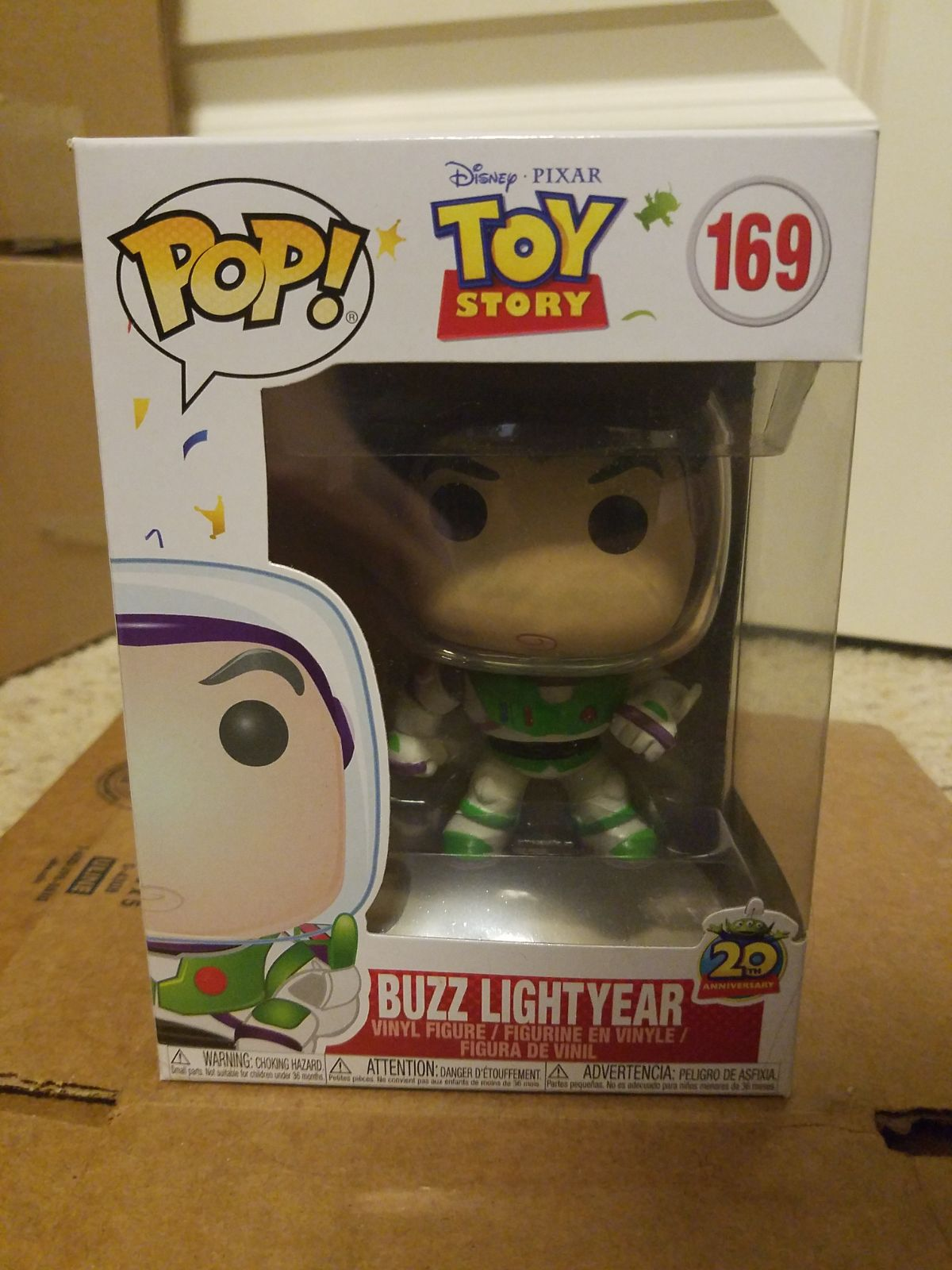 Funko Pop Buzz Toy Story 169