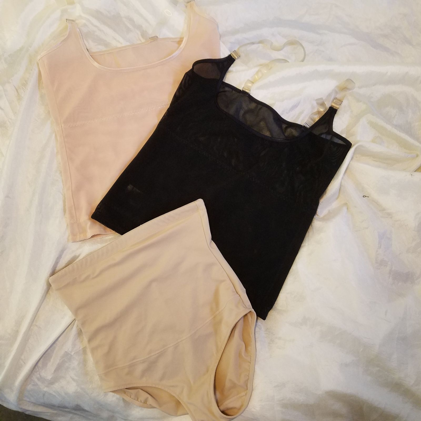 Mesh Torsette Shapewear Medium Cami