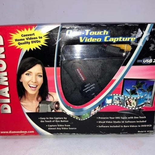 Diamond VC500 USB 2.0 One Touch VHS