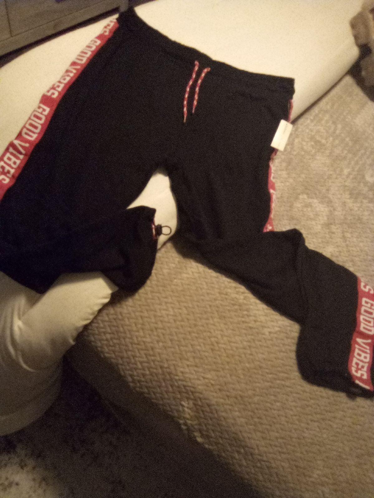 womens joggers Bobbie Brooks xl pink/blk