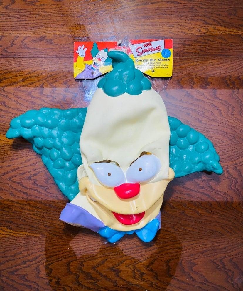 The simpsons krusty the clown halloween