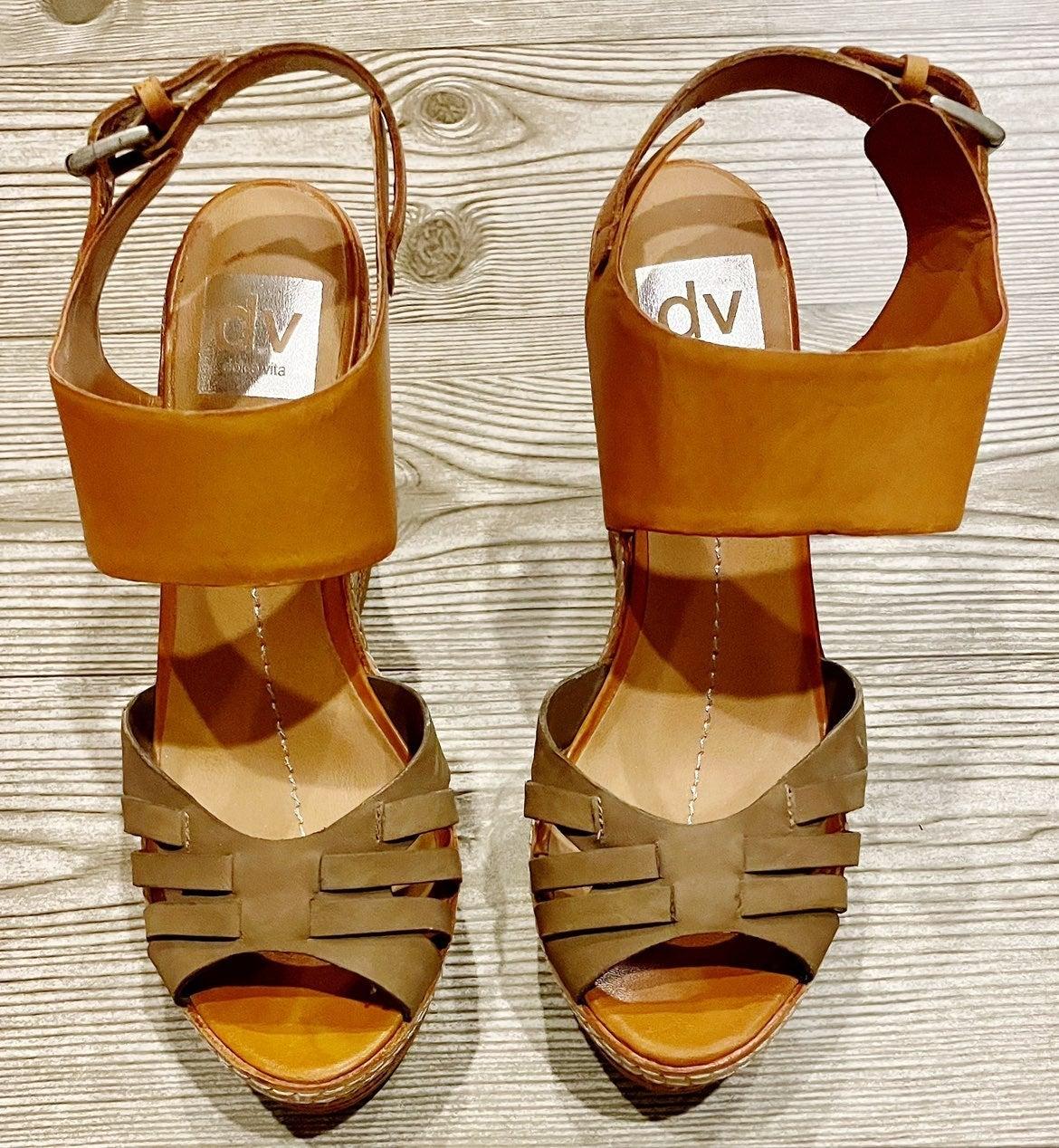 Dolce Vita Color Block Sandal Size:7.5