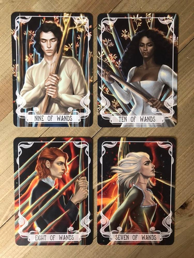 Fairyloot Tarot Cards Serpent and Dove